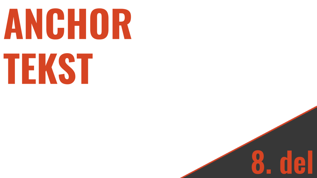 optimizacija speltnih strani anchor tekst
